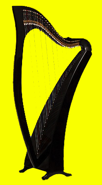Mickie's woven harp